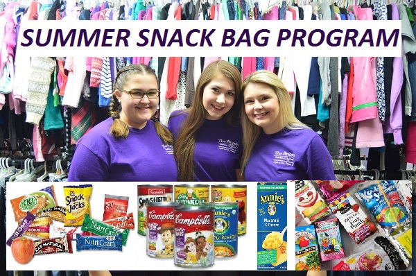 "Be a ""SNACK ANGEL"" – Summer Snack Bag Program"