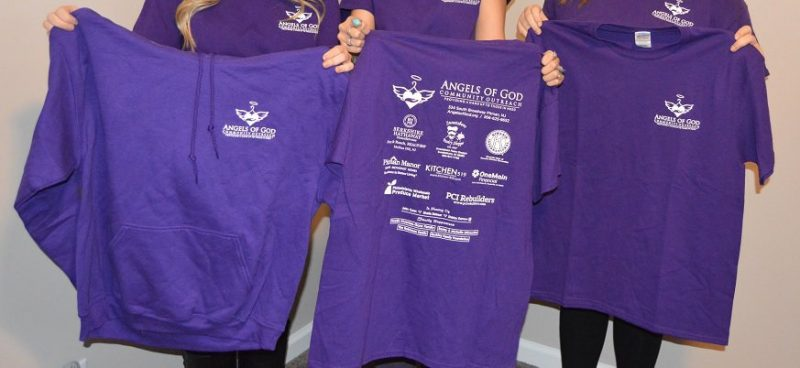 The Angels Community Outreach T-Shirt Sponsor Form