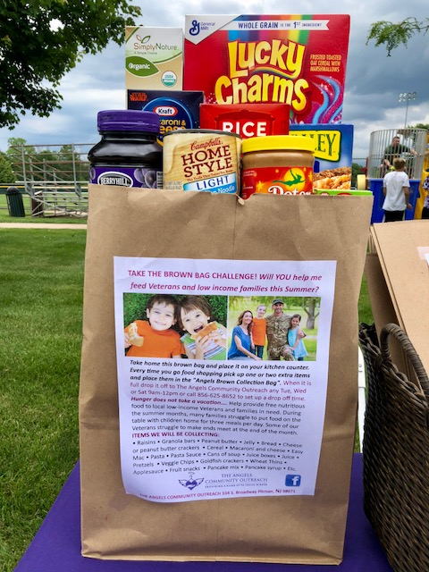 TAKE THE BROWN BAG CHALLENGE! Will YOU help me feed Veterans and low income families this Summer?